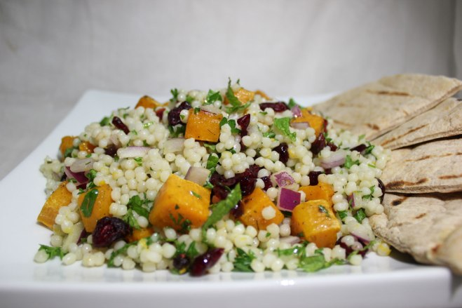 Couscous Salad With Butternut Squash And Cranberries Recipe ...